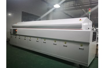 Test IR Curing oven for shipping