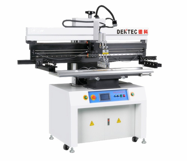 semi-auto printer machine